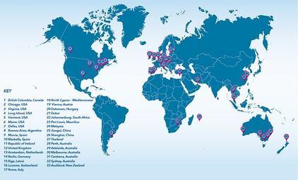 Universities across world